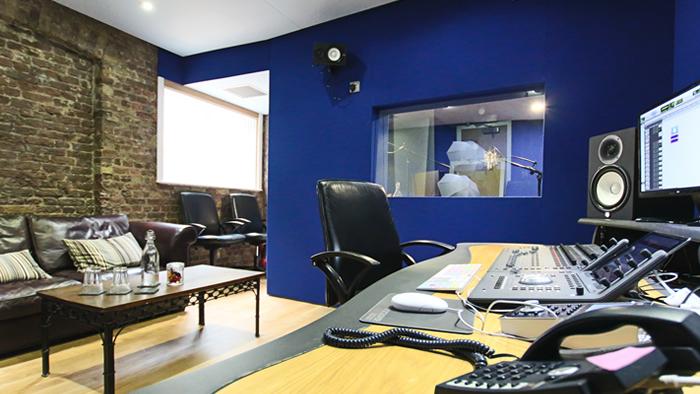 Voiceover recording studio 2