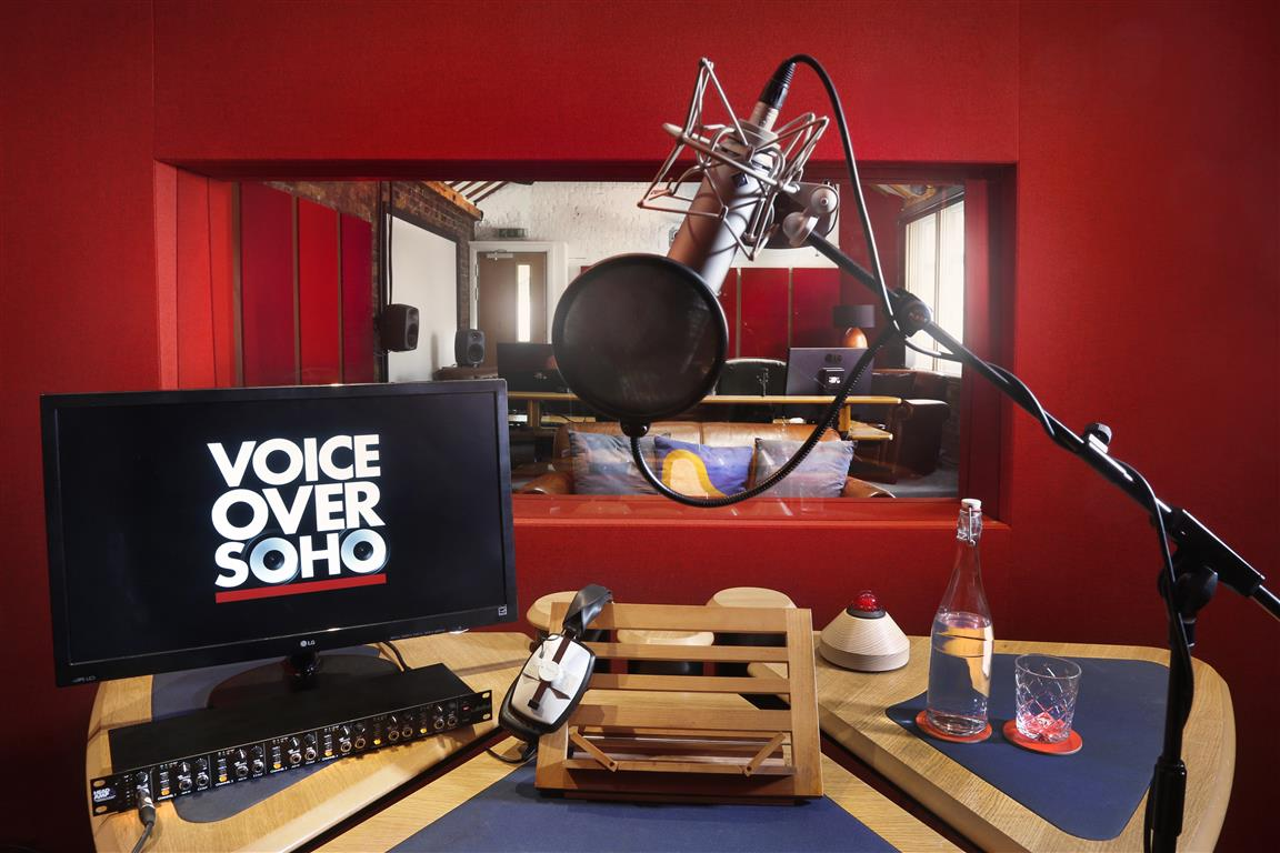 Voiceover Soho - STUDIO 1 SHOT 3