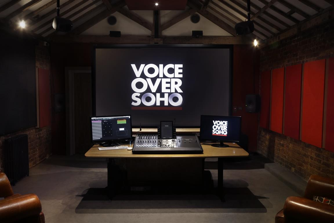Voiceover Soho - STUDIO 1 SHOT 5