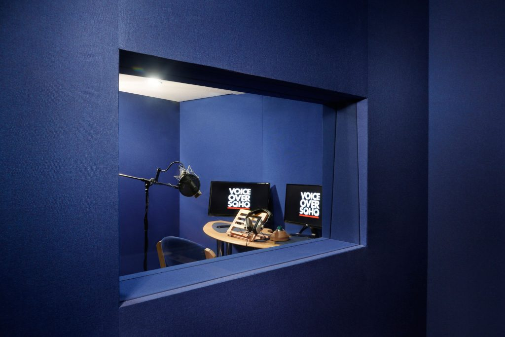 professional voice recording studio soho
