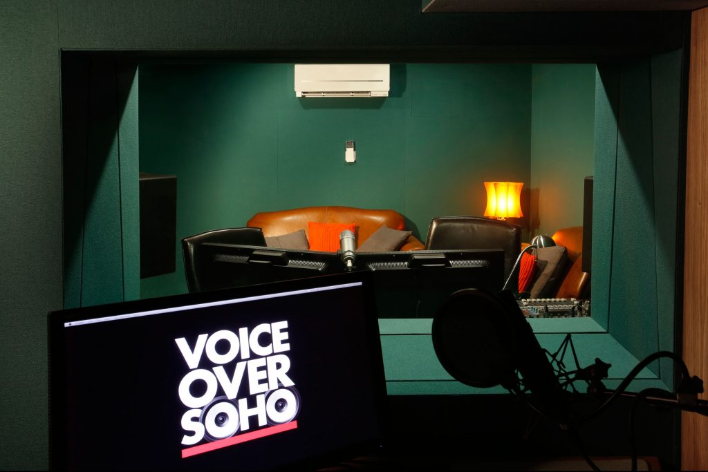 voiceover talent recording studio